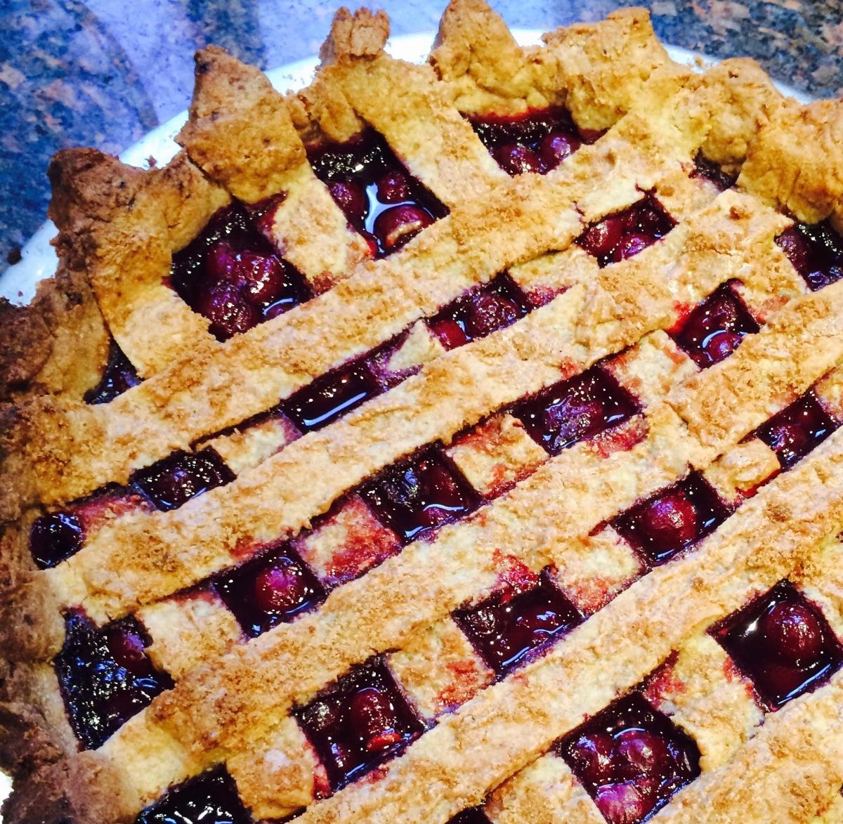 Wholefood Cherry Pie